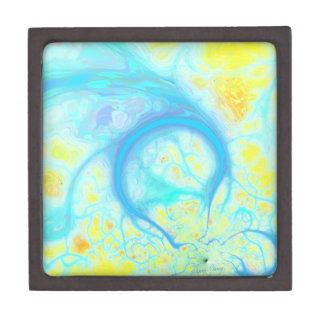 Streams of Joy – Cosmic Aqua & Lemon Premium Jewelry Boxes