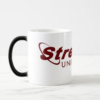 STREELING UNIVERSITY morphing mug