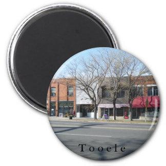 Street 2 Inch Round Magnet