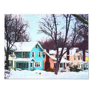 Street After Snow Card