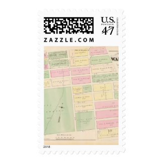 Street and building maps postage