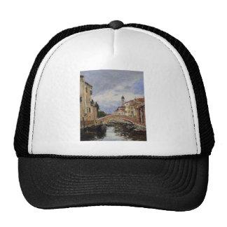 Street, Antibes by Eugene Boudin Trucker Hat