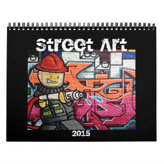 street art 2015 wall calendars