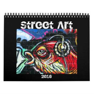 street art 2016 calendar