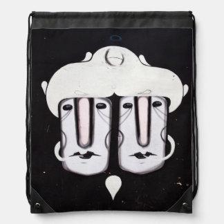 street art backpack