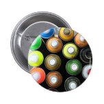 Street art cans pins