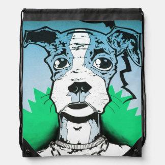 street art cinch bags