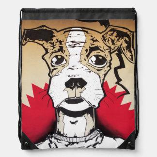 street art drawstring backpack