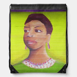 street art drawstring bags