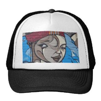 Street Art Girl Trucker Hat