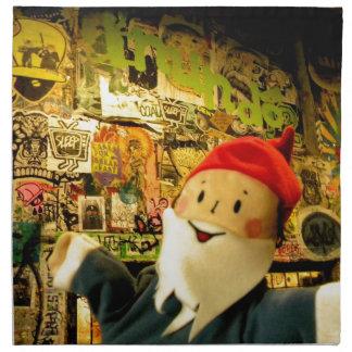 Street Art Gus Cloth Napkin