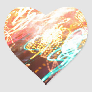 Street Art Heart Sticker
