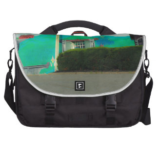 Street Art Laptop Messenger Bag