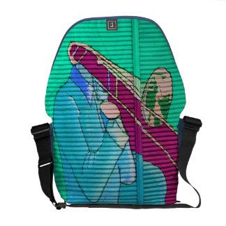street art messenger bags