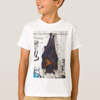 Street art mural flying fox (fruit bat) fantasy T-Shirt