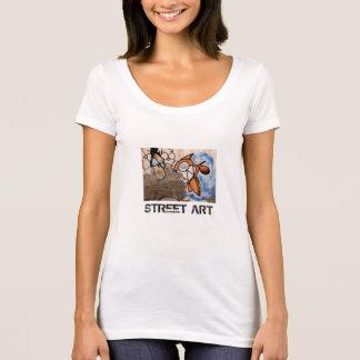 Street Art of Las Palmas Cartoon Fish T-Shirt