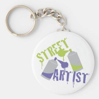 Street Artist Keychain