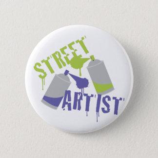Street Artist Pinback Button