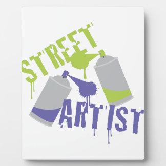 Street Artist Plaque