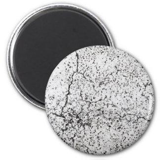 Street asphalt cracks texture magnet
