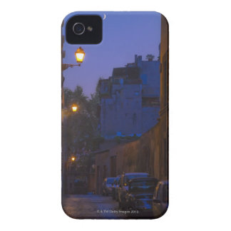Street at night in Rome, Italy iPhone 4 Case-Mate Case