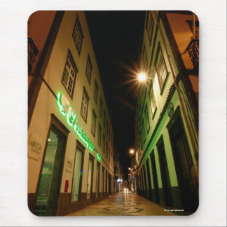 Street at night mouse pad