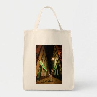 Street at night tote bag