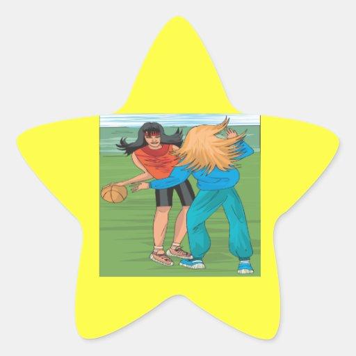 Street Ball Star Stickers