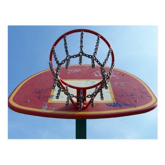 Street Basket Postcard