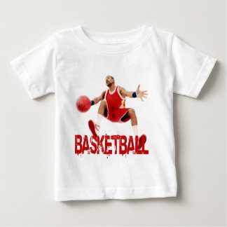 Street Basketball Dribble Baby T-Shirt
