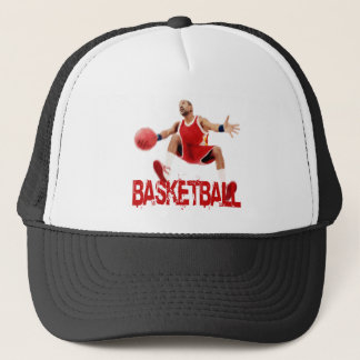 Street Basketball Dribble Trucker Hat
