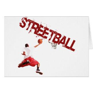 Street Basketball Dunk Card