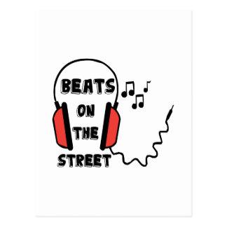 Street Beats Postcard