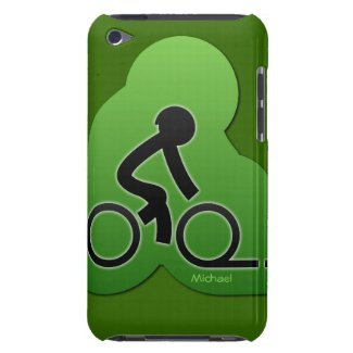 Street Bicycle Biking iPod Touch iPod Touch Cover
