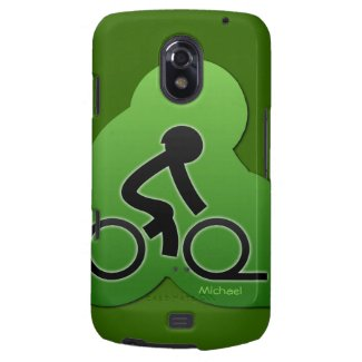 Street Bicycle Biking Samsung Galaxy Nexus Case