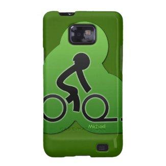 Street Bicycle Biking Samsung Galaxy S2 Case