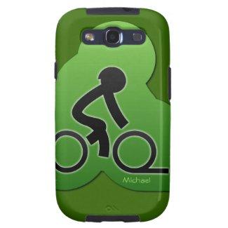 Street Bicycle Biking Samsung Galaxy S3 Case