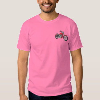 Street Bike Embroidered T-Shirt