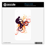 Street bike iPhone 4S decal