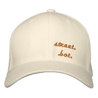 street..bot, by gear,s-line. embroidered baseball hat