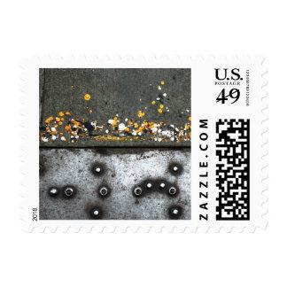 Street Braile Postage Stamp