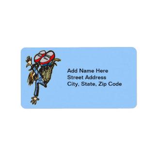 Street Breakdancing Label