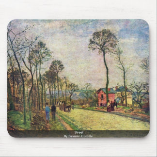 Street By Pissarro Camille Mousepad