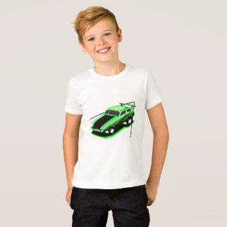 Street Car Racer T-Shirt for Boys