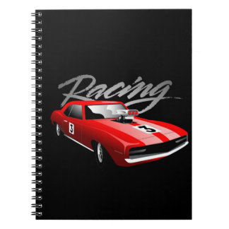 Street car racing notebook