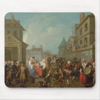 Street Carnival in Paris, 1757 Mouse Pad