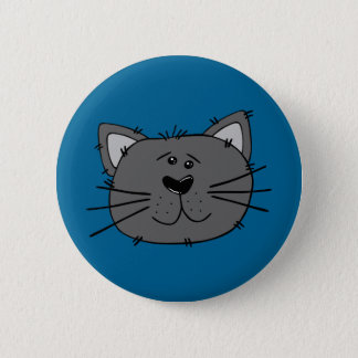 Street Cat Badge Button