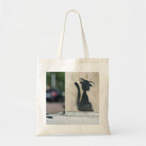 """street cat "" bolsa de mano"