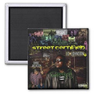 """Street Certified"" Mixtape Cover - Magnet"