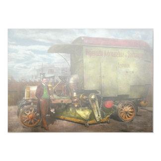 Street Cleaner - The hygiene machine 1910 Card